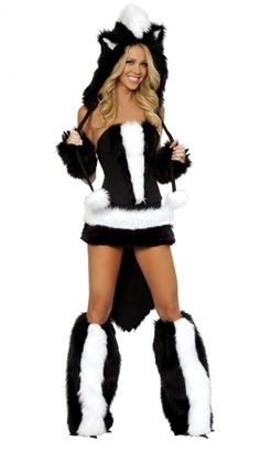 flower skunk halloween costume2014 cute halloween costumes fashion women diy - Cheap Costume For Halloween