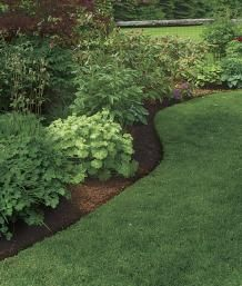 How to Create Perfect Edges for Your Garden Beds and Borders is part of garden Borders Edging - Learn how to create perfect edges for your garden beds and borders in this article from Fine Gardening and keep everything looking neat and clean Garden Yard Ideas, Lawn And Garden, Garden Beds, Garden Shrubs, Garden Edging Ideas Cheap, Spring Garden, Shade Garden, Garden Benches, Garden Hose