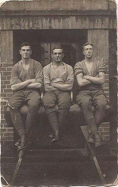 Fine-looking working men, late 19th century (?)