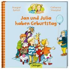 Jan und Julia haben Geburtstag. Ab 3 Jahren.