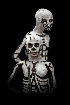 Skeletons tribe in Mount Hagen Papua New Guinea | por Eric Lafforgue