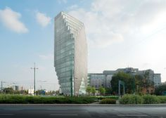 Baltyk Tower: MVRDV`s first project in Poland
