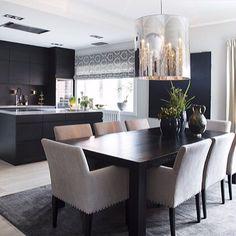 På vei hjem til Oslo 🌿 - mondointerior Home Decor Kitchen, Modern Dining Room, Elegant Dining Room, House Interior, Apartment Living Room, Home Decor, Dining Room Inspiration, Room Interior, Dining Room Table