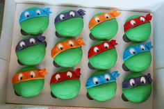 ... Birthday Indy :) Hope you enjoyed your Choc Mint TMNT Cupcakes. xx