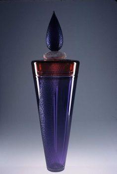 NICK MOUNT Blue Bottle, Bottle Art, Bottles And Jars, Perfume Bottles, Nice Things, Beautiful Things, Zen Pictures, Lovely Perfume, Art Of Glass