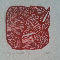 There's a red mini fox linoprint too. Perfect for a colourful autumn. Check them out on Etsy, link in profile. #handmade #red #fox #linoprint #linocut #animals #animal #blue #prints #printmaker #printmaking #art #animalart #illustration #autumn #fall #interiordesign #homedecorating #nurserydecor #nursery #nurseryart #etsy #etsyshop #etsyseller