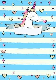 Invitation unicorn