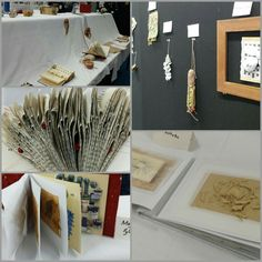 """Ausstellung zum Workshop """"Paper, Yarn & Explorations"""""""
