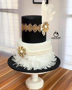 Art Deco Cake, Gatsby Theme, Oven, Artisan, Instagram, Ovens, Craftsman