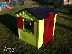 Little TIkes Extrememe Playhouse Makeover