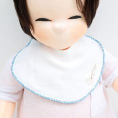 Cute Newborn Baby Bib Piping Bib Cotton Gauze Infant Toddler Handmade Eb232 #Ggoomduboo