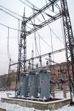 Electric Power Substation ...  Volts, alternating, amperage, blackout, built, cable, communications, connection, construction, current, danger, distribution, electrical, electricity, energies, equipment, factory, fuel, fuse, generation, generator, high, in, industry, insulation, insulators, iron, lines, link, metal, multi-generation, nobody, outdoors, powers, pylon, row, sign, station, steel, structure, substation, supply, technology, tower, transformer, vibrant, voltage, warning, watts…