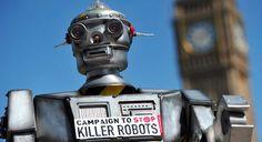Si fermi la ricerca sui robot killer. La Campagna internazionale arriva in Italia