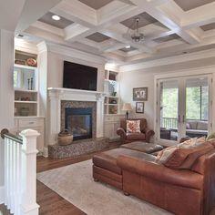 main idea around fireplace