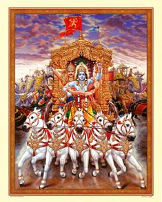 Krishna consciousness under supervision/help/power of the Eternal One - reigns in and controls the five senses