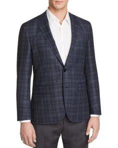 HUGO BOSS Jeen Large Plaid Regular Fit Sport Coat | Bloomingdale's