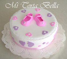 Mi Torta Bella: Tortas para Baby Shower de nenas