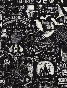 Timeless Treasures | Halloween Chalkboard