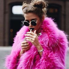 Faux fur jacket... Festival wear