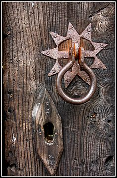 Door Knocker and Keyhole