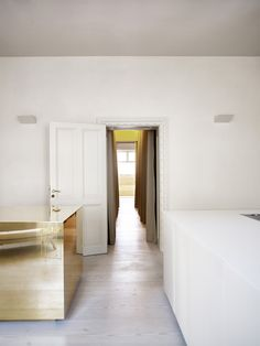 Apartment with brass cube – Claesson Koivisto Rune