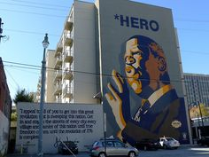 BLOG: Out There Atlanta    Mural of Civil Right's leader John Lewis, near the Sweet Auburn Curb Market in Atlanta.    Happy Holidays everyone!