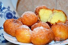 Ingredients For the dough: 200 g vanilla curd or sweet tooth with vanilla flavor . Baking Recipes, Cake Recipes, Dessert Recipes, German Bread, Eastern European Recipes, Good Food, Yummy Food, Czech Recipes, Food Humor