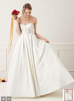 Galina T3039 - New With Tags Wedding Dress with pockets! SmartBrideBoutique.com