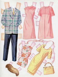Vintage Whitman #1966 HAPPY BRIDE paper dolls 1967 uncut/unused/Wedding Party   eBay