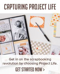 Capturing Project Life. Get in on the scrapbooking revolution by choosing Project Life. Get started now.