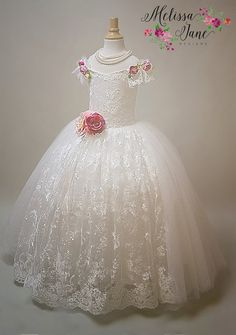 We are so looking forward to our 2016 Floral Flower Girl Bridal Designs! This year is going to bring some incredibly beautiful new fashion to anybody's taste in flower girls dresses!This is