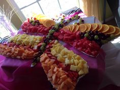 Bella the butterfly #latestcreation #fruittray