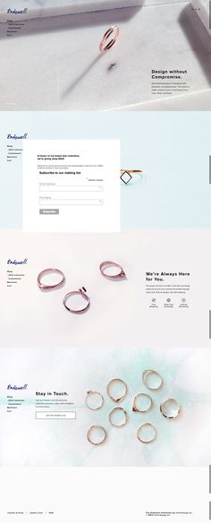 Endswell Collection Website