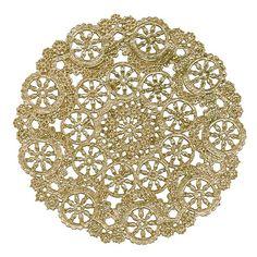 Royal Lace Round Foil Doilies, Gold, 12-Inch, Pack of 6 (B26512) Royal Lace http://www.amazon.com/dp/B001QNUNLG/ref=cm_sw_r_pi_dp_y1cKwb1X80TTB