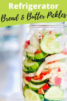 Learn how to make Bread & Butter Pickles that you keep in the refrigerator! #breadandbutterpickles #pickles #refrigeratorpickles | QuicheMyGrits.com Top Recipes, Veggie Recipes, Easy Dinner Recipes, Appetizer Recipes, Real Food Recipes, Healthy Recipes, Bread & Butter Pickles, Bread N Butter, How To Wash Vegetables
