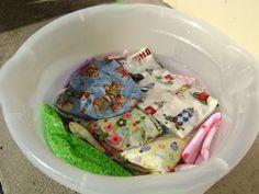 ARTE COM QUIANE - Paps,Moldes,E.V.A,Feltro,Costuras,Fofuchas 3D: Preparando o tecido antes de costurar