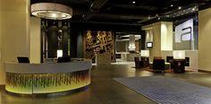 Proximities: lobby + restaurant | Aloft Hotel Foshan - HOK
