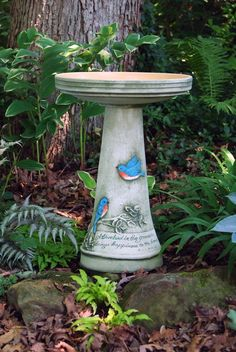 1000 images about birdbaths from burley clay products on for Outdoor furniture zanesville ohio