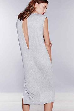 Silence + Noise Clea Midi T-Shirt Dress