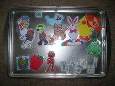 Metal Cookie Sheet & Magnets
