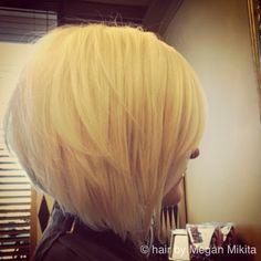a-line short haircut