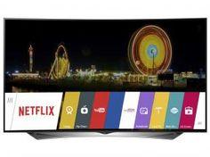 """Smart TV LED Ultra HD 3D 79"""" LG 79UG8800 - Conversor Integrado 4 HDMI 3 USB 4 Óculos"""