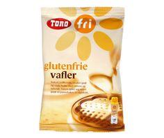 TORO Glutenfrie vafler 242g - Glutenfritt - Toro
