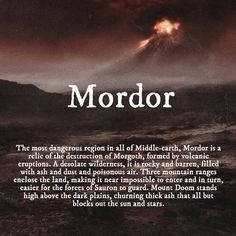 One does not simply walk into to Mordor.