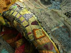 Patchwork Scrap Quilts, love how this one truly holds it's maker's personality