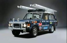 Trans Americas Expedition Darrien Gap crossing Range Rover 3.5 V8