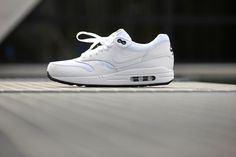 Nike Air Max 1 Essential White/ White-Black - 537383-125