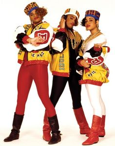 80s Salt, Pepa and Spinderella
