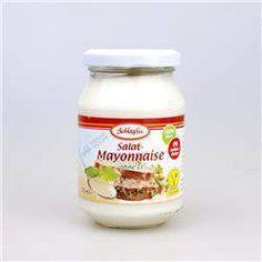 Majonez wegański 250ml Schlagfix Mayonnaise, Seitan, Coconut Oil, Jar, Food, Meal, Eten, Meals, Jars