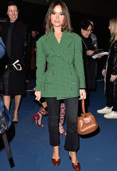 Miroslava Duma - Céline Fall 2016 Front Row - March 6, 2016 #pfw